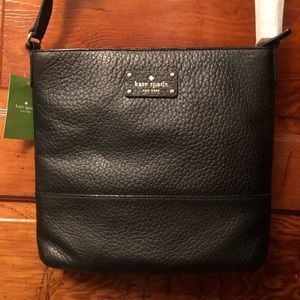 Kate Spade Leather Crossbody Black Bag